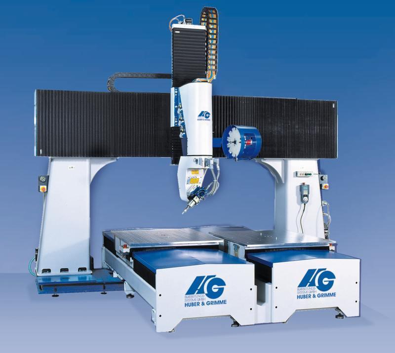 5-axis Portal Milling System P-T-F(25-10)plastics processing