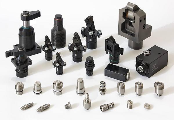 Hydraulische Spanntechnik - Abstützelemente, Hebelspanner, Schwenkspanner, Sonderelemente