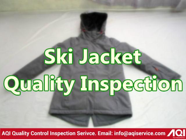 Ski Jacket Quality Inspection Service