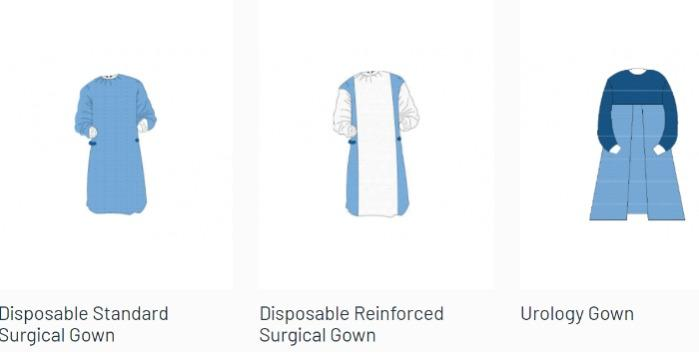 Disposable Surgical Gowns -