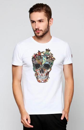Футболки с черепами - Мужские футболки с черепами MAKSYMIV