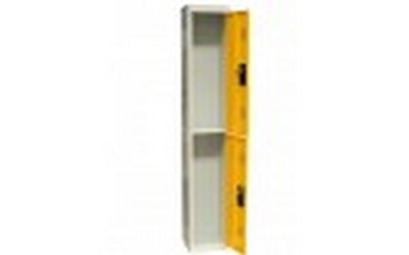 2-compartment locker - null