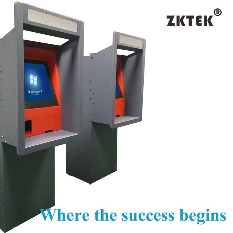 "AW38 17"" touch screen wall-through ATM with cash dispenser,"