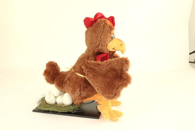 Chicken- lays eggs - null