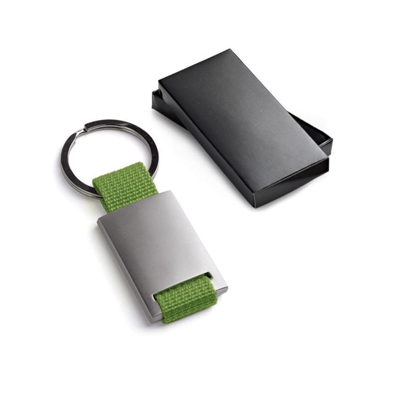 Porte-clés métal et webbing. - Porte-clés métal