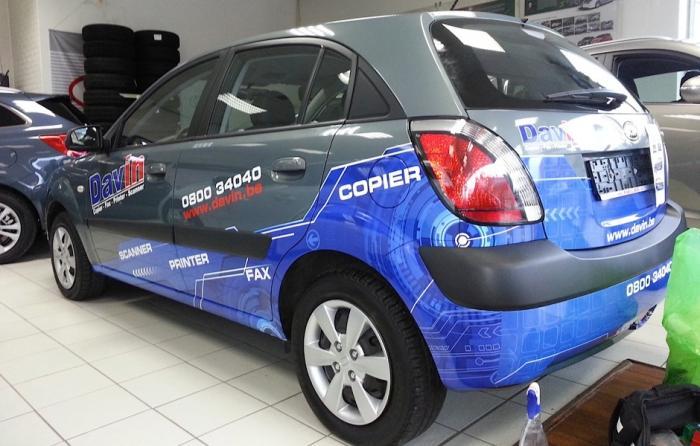 Véhicule - vehicule lettrage voiture total
