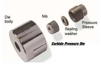 Carbide Pressure Dies
