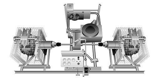 Combinación de dinamómetro - Comprobación de la unidad de accionamiento completa