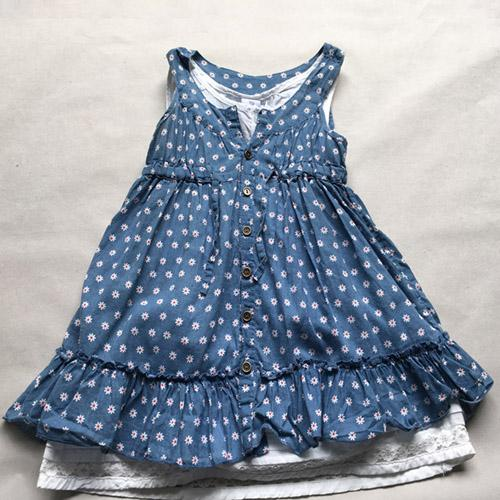 Girls' dress  children's clothes -