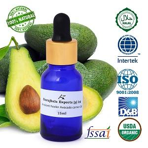 Ancient healer avocado carrier oil 60ml - essential oil avocado carrier oil