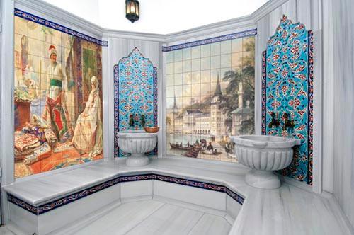 Spa and Bath Tiles - Custom Printed Spa and Bath Tiles