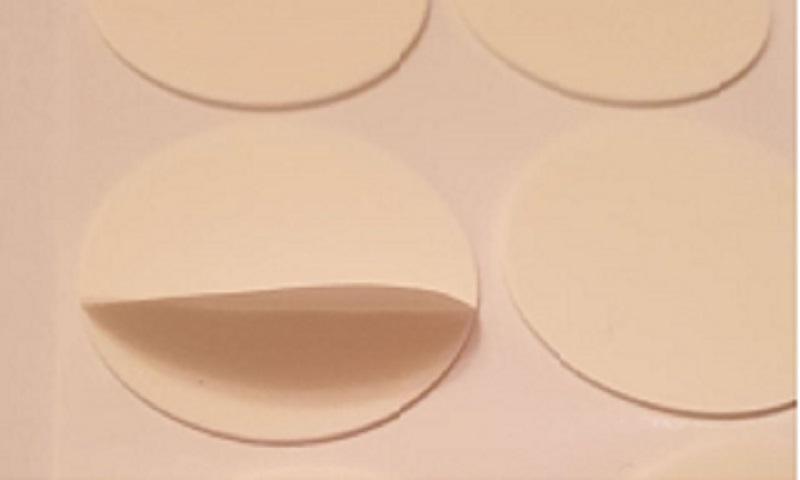 DISCOS DE FITA DE ESPUMA PE - fita dupla face adesivo discos PE