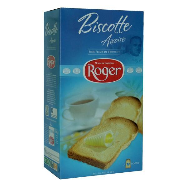 Rusks Aix flower wheat flour - Crackers