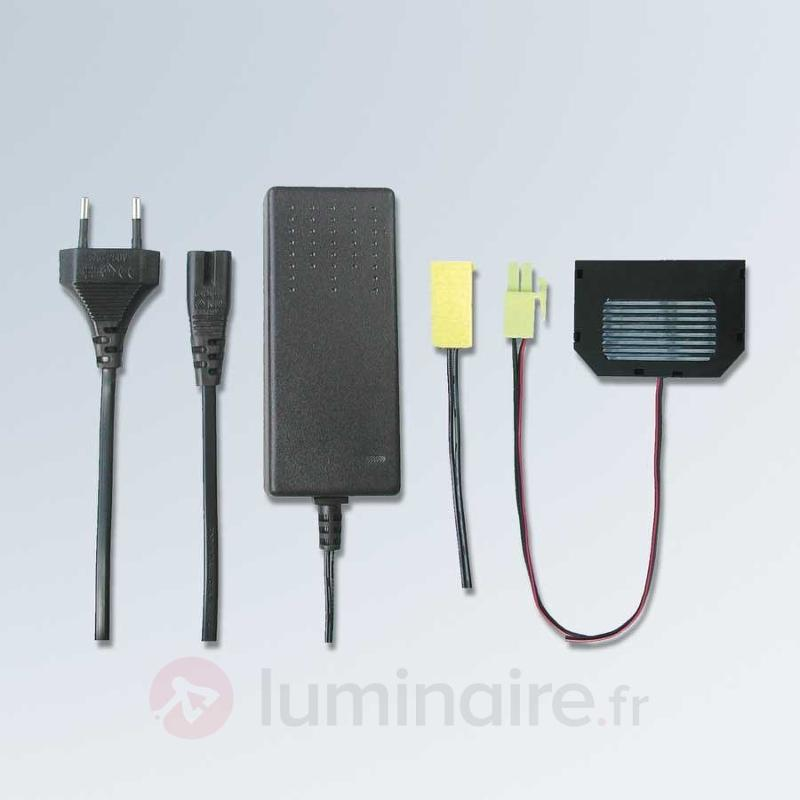 Transformateur 30 VA de lampe LED avec fiche Euro - Transformateurs LED