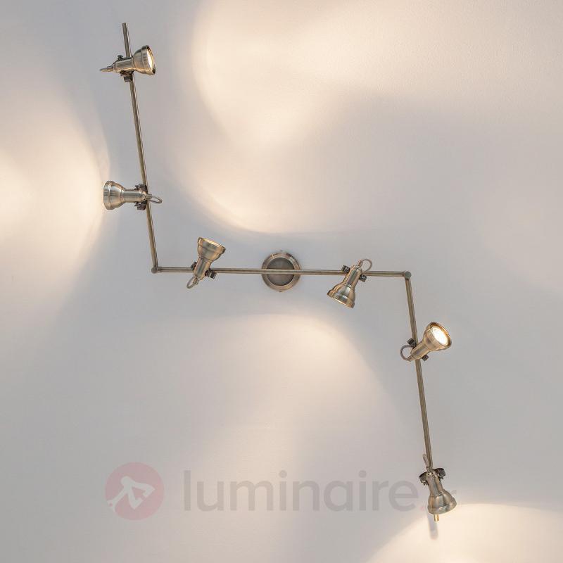 Plafonnier Perseas à 6 spots avec LED GU10 - Plafonniers LED