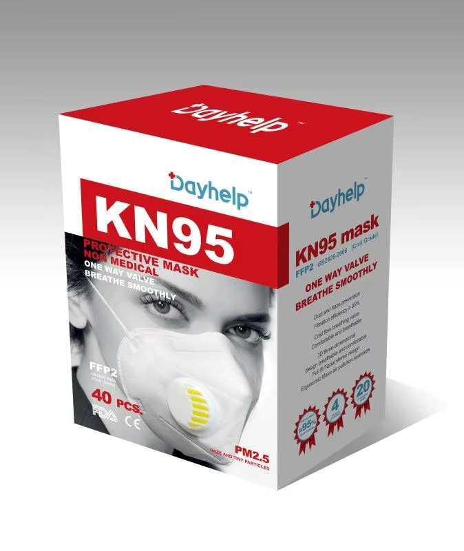 FDA CE Kn95 Boca Máscaras civil máscara Adulto Cara Civil Má - Máscaras civil kn95 ffp2