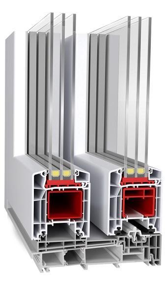HST-85 (PVC Sliding Doors - Aluplast)