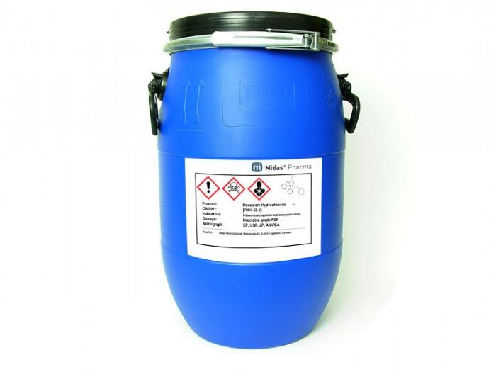 Doxapramhydrochlorid - Doxapram Hydrochlorid; Wirkstoff; EP, USP, JP, ANVISA; [7081-53-0]