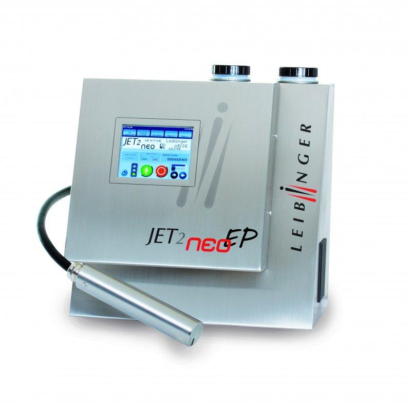 LEIBINGER JET2neoEP - Industrieller Inkjet-Drucker