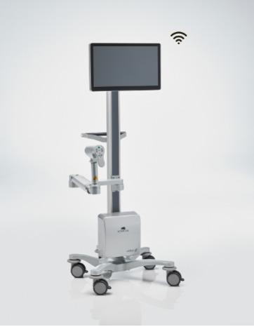 vidan®2 mobile Video Colposcope  - Full HD Video Colposcope on a mobile stand