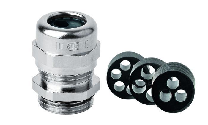 PERFECT 系列金属接头 - PERFECT 系列金属接头, 连接螺纹包括公制,Pg制和NPT, 防护等级IP68 - 5 bar / IP69, Jacob GmbH