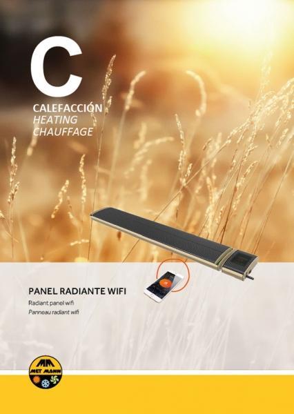 Calefacción eléctrica paneles radiantes - INFRA MANN WIFI - Calefacción eléctrica con paneles radiantes - INFRA MANN WIFI