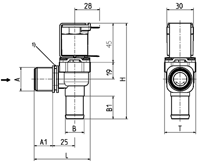 Electrovanne servo-commandée NF, DN 13 - 01.013.115