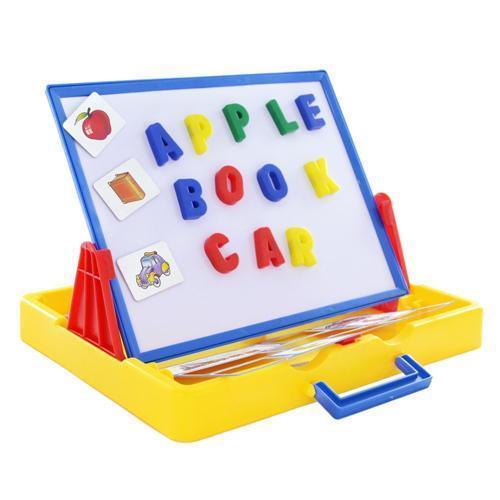Table de chevalet - Wishtime Deluxe Lettres magnétiques Tabletop