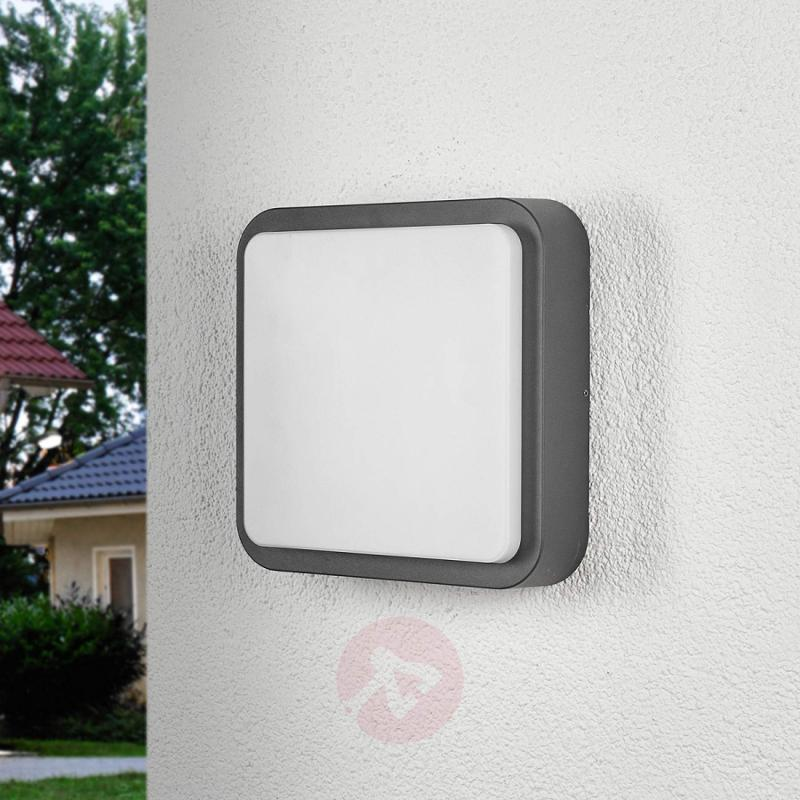 Maxine - a rounded outdoor wall light with LEDs - outdoor-led-lights
