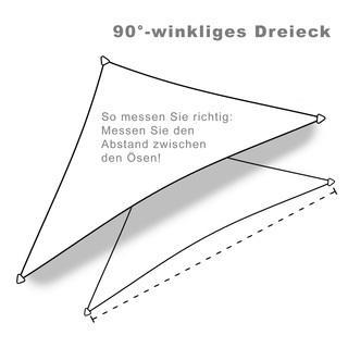 hanSe ® Marken Sonnensegel 100% Polyester Dreieck... - null