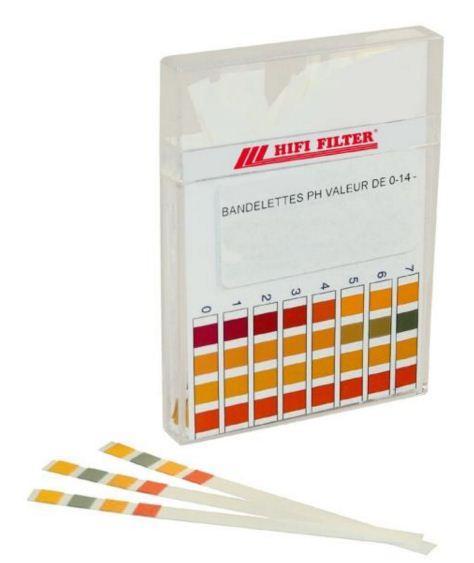Kit de bandelettes  - Pour test de PH