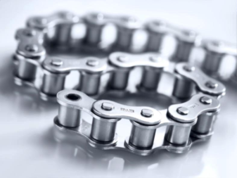 b.dry maintenance-free Stainless Steel Chains - b.dry maintenance-free Stainless Steel Chains: wear-resistant and corrosion-free