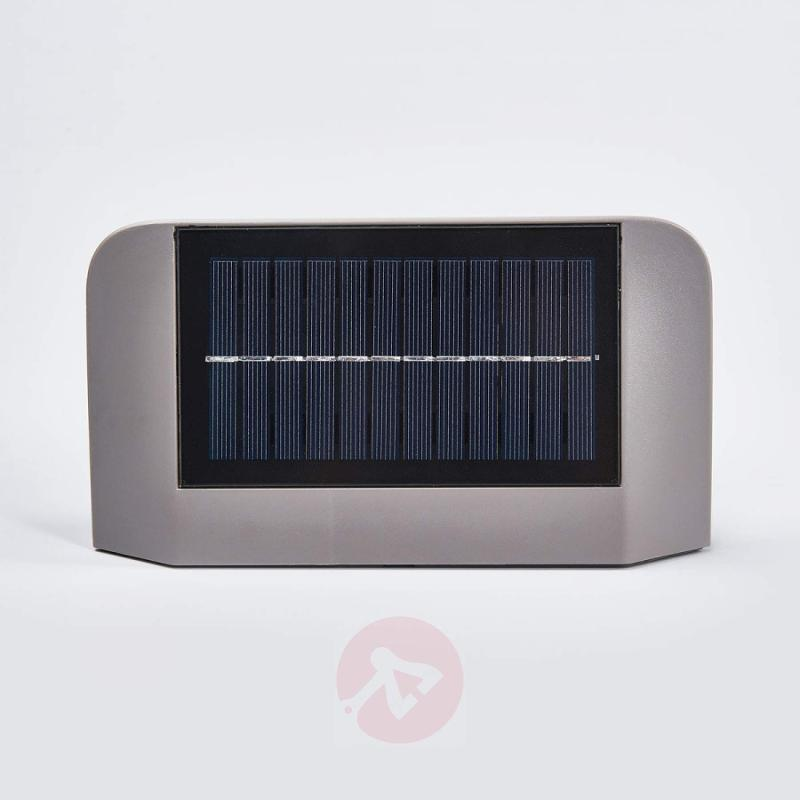 Ghost LED solar wall light - with motion detector - outdoor-led-lights