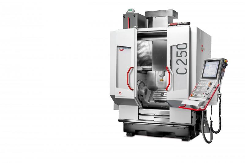 Machining centre C 250 - Dynamic CNC machining centre for entry into 5-axis / 5-sided machining