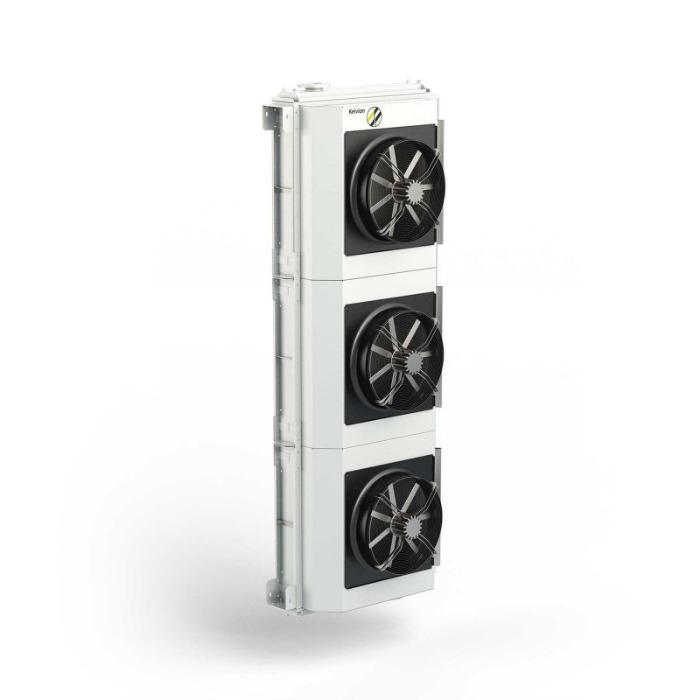Aeroenfriadores de aceite de transformadores - Con diferentes variantes de montaje