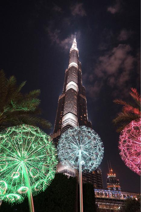 Dandelions (Soffioni) – Dubai, Emirati Arabi Uniti (EAU) -