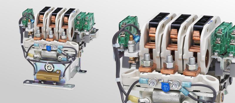 Nockenschütze C152/C153/C154 - Mehrpolige Nockenschütze für Spannungen bis 450 V