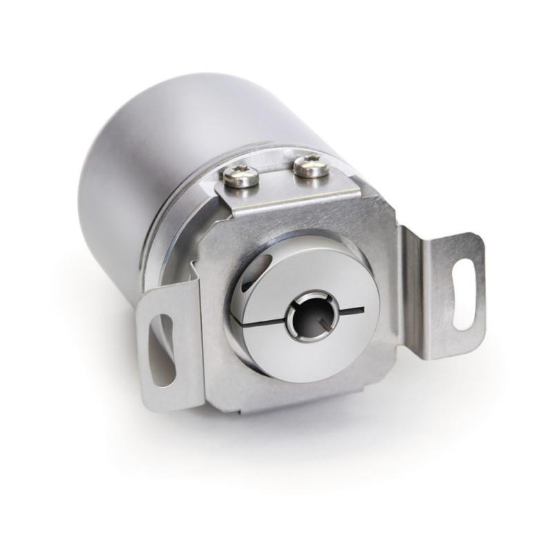 Codificador absoluto AH36M - Codificador absoluto AH36M, Carcasa de metal con eje hueco