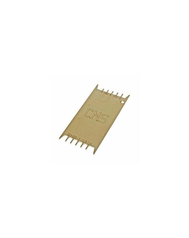 JAUGE EPAISSEUR STRATIFIE 300 microns - 4mm - COUTEAUX, JAUGES, INSERTS