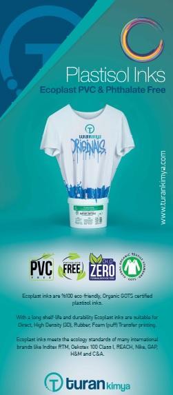 Ecoplast Inks - Ecoplast PVC, Phtalat-Free Plastisol Inks
