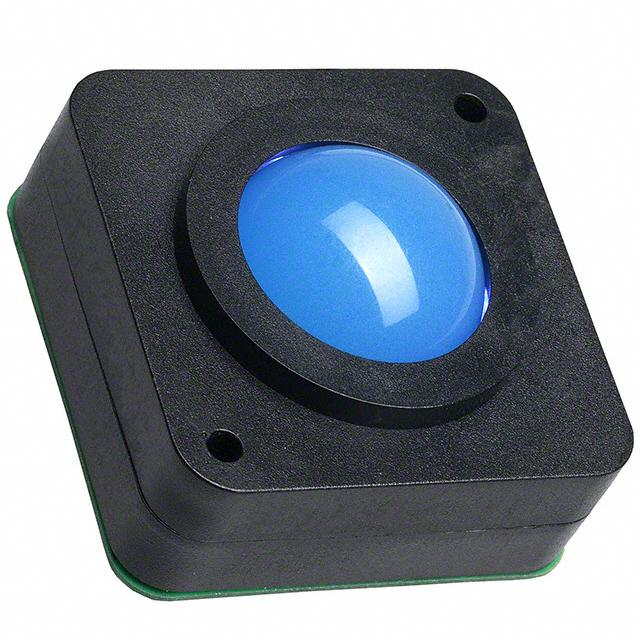 "TRACKBALL 1"" PS/2 W/BLUE BACKLIT - APEM Inc. LP1003EXXH00B"