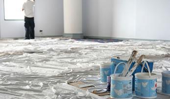 Préparation du chantier avant rénovation intérieure - null