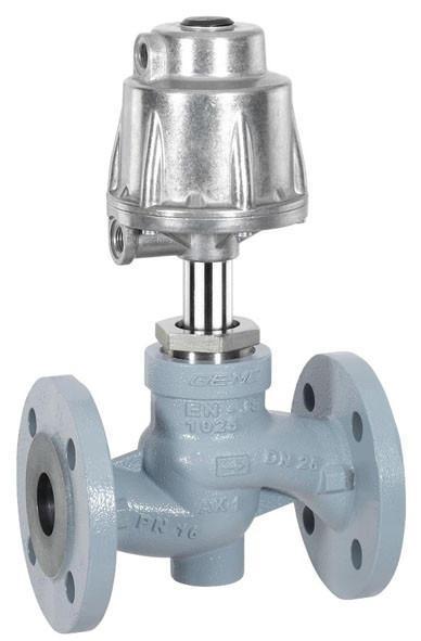 GEMÜ 532 - Pneumatisch bediende rechte zittingafsluiter