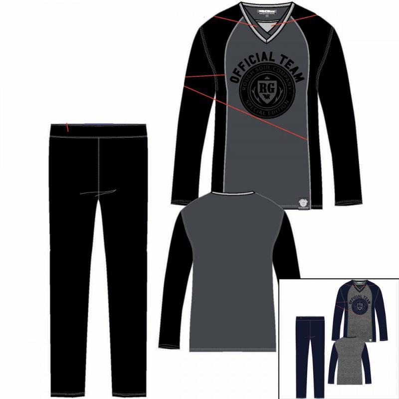 12x Pyjamas RG512 du 4 au 14 ans - Pyjama