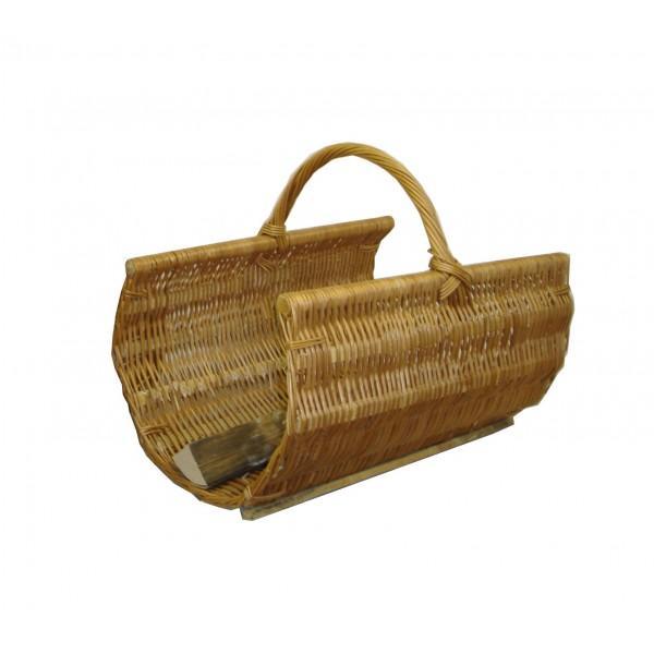 Panier à bois 1/2 rond L50 et L60 cm - null