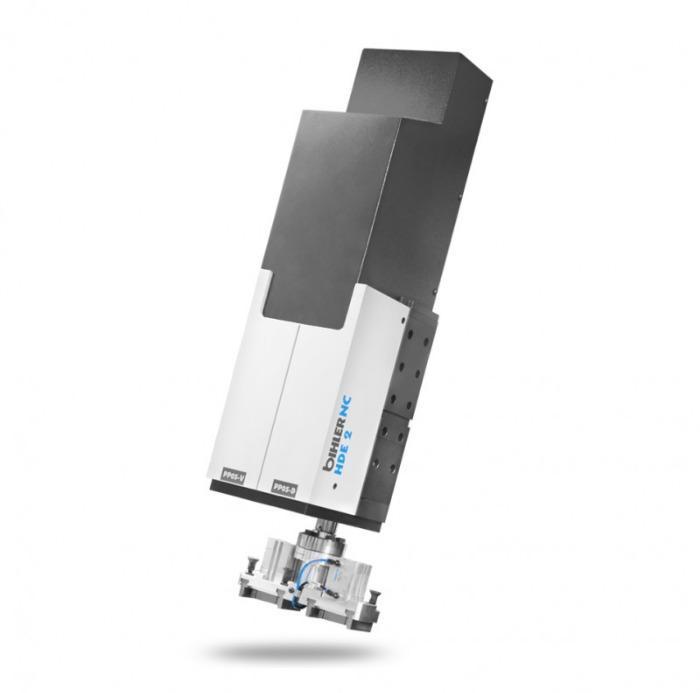 Unidad de carrera y giro HDE - Servomódulo potente y compacto para producción en masa con seguridad de proceso