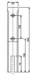 Glass Spigot - JGS-5210