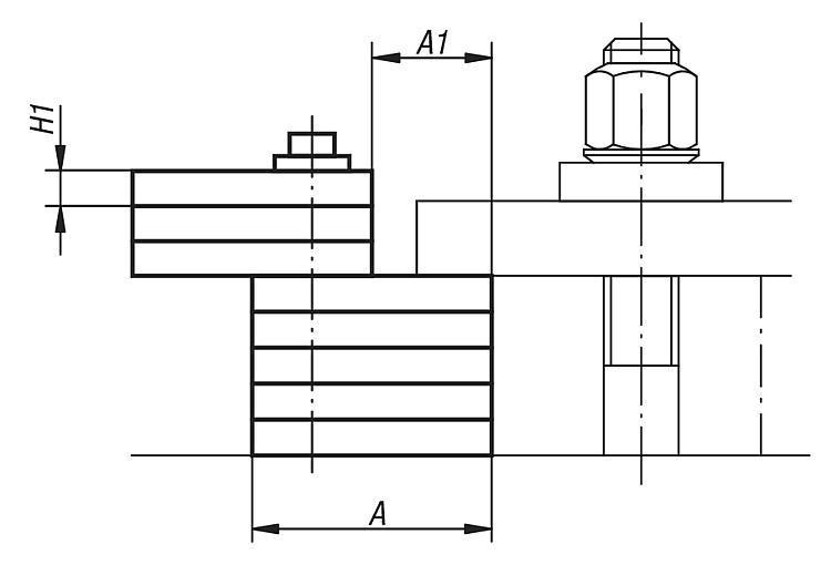 Bloc de serrage compact - Vérins supports