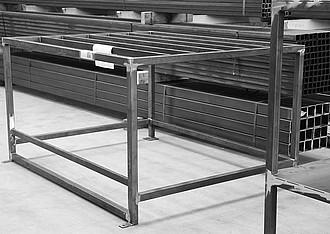 achberg production - steel construction