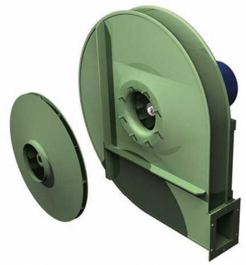 GBI • Ventilateur haute pression type GBI - Transmission directe - null